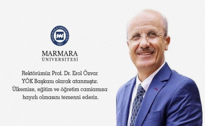 Rektör Erol Övzar, YÖK Başkanı olarak atandı