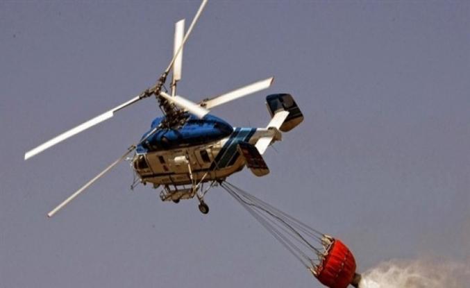 Yangınla mücadelede helikopter, uçağa göre daha üstün
