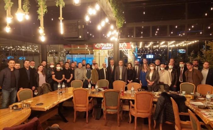 İstanbul'a Başkan Olarak Atanan Başhekime Veda Yemeği