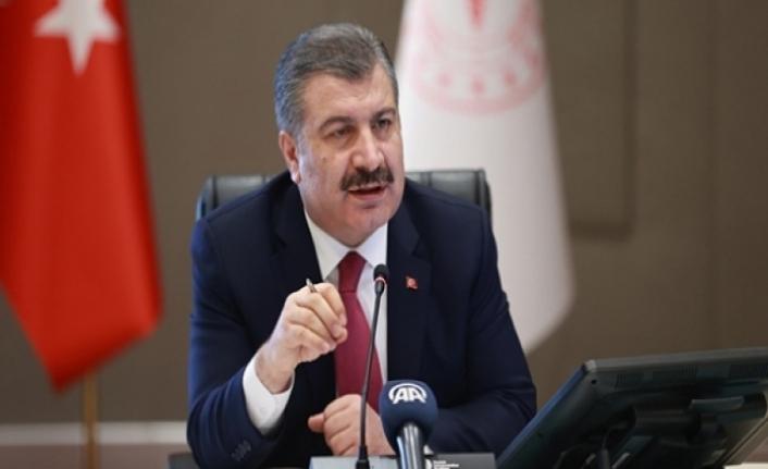 Sağlık Bakanı Koca, 81 il sağlık müdürüyle bayram öncesi online toplantı yaptı