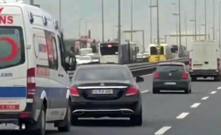 Ambulansa Yol Vermeyen Sürücüye Hapis Cezası