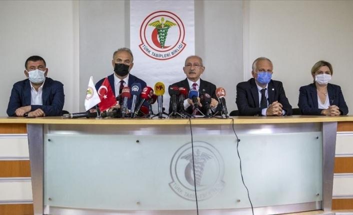 Kılıçdaroğlu TTB'yi Ziyaret Etti