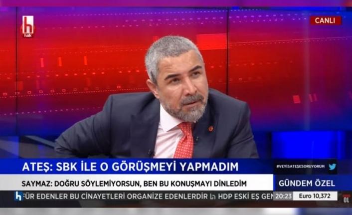 ATEŞ, PEKER'in Sağlık Bakanlığı İddialarını Yanıtladı