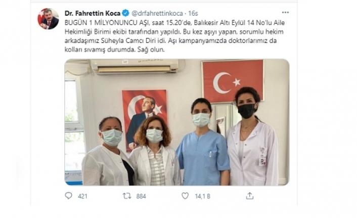 KOCA Sağlıkçıların Motivasyonunu Sosyal Medyadan Sağlıyor